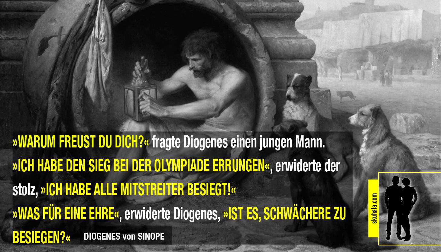 skuhala.com - diogenes über olympiasieger